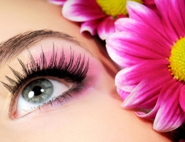 Beauty pink make-up