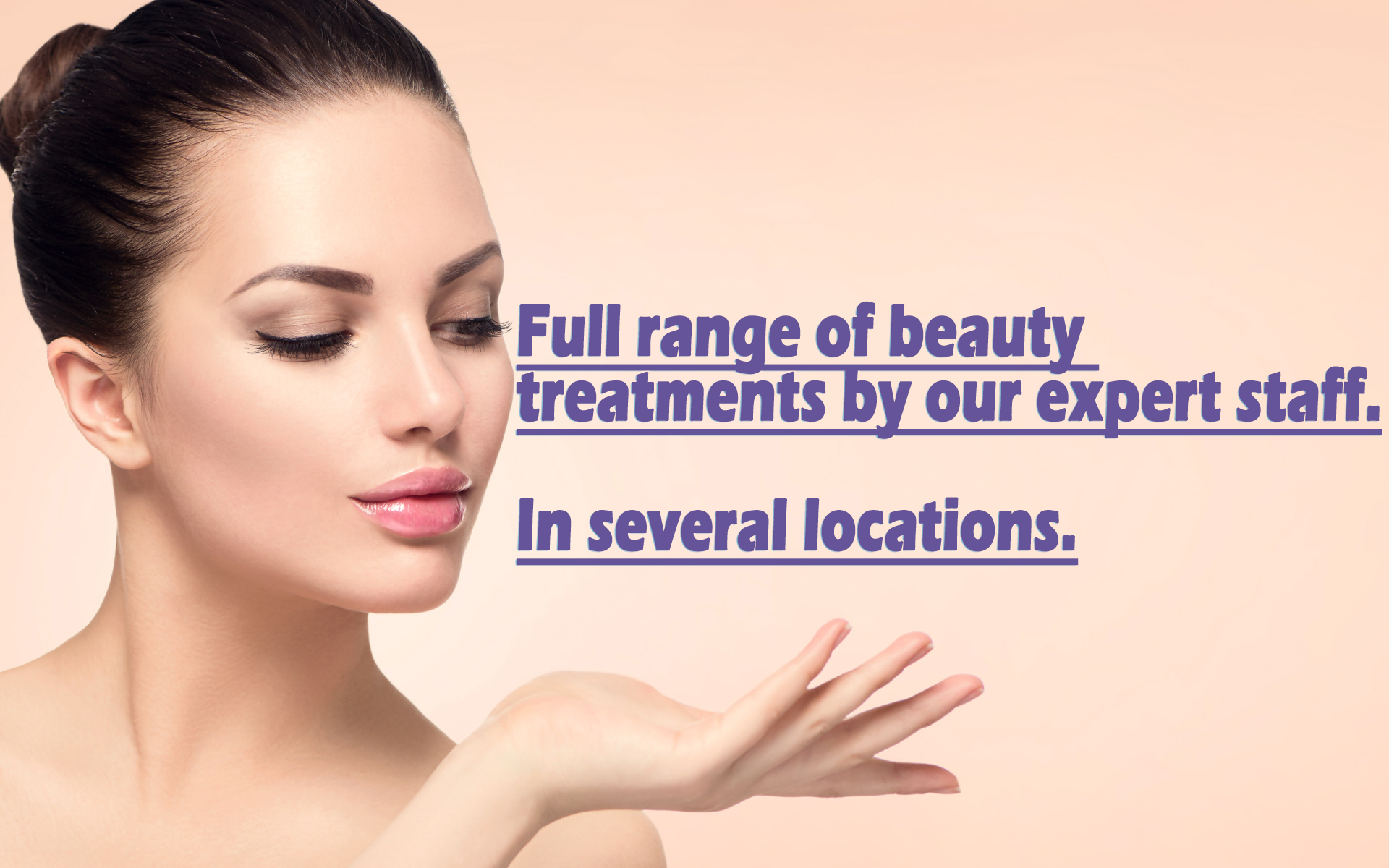 Full beauty services from Unique Beauty 4u Salons